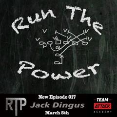 Jack Dingus - Hog Football Clinic and coaching HS Football in Oklahoma EP 017