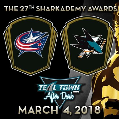 Teal Town USA After Dark (Postgame) Sharks vs Blue Jackets -  3-4-2018