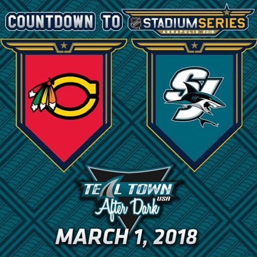 Teal Town USA After Dark (Postgame) Sharks vs Blackhawks -  3-1-2018