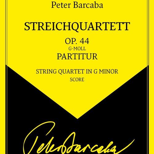 Peter Barcaba, Streichquartett Op.44 (Demo)