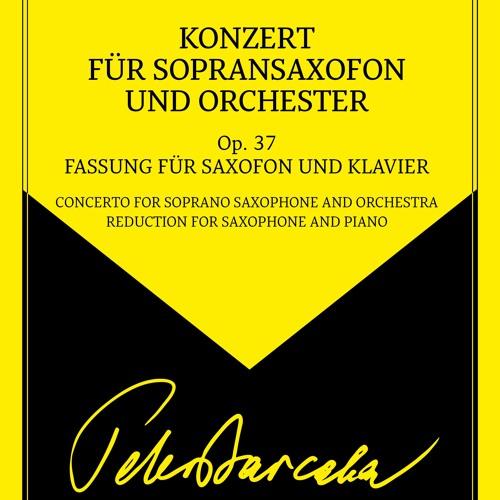 Peter Barcaba, Konzert für Sopransaxophon und Orchester Op.37 (Demo)
