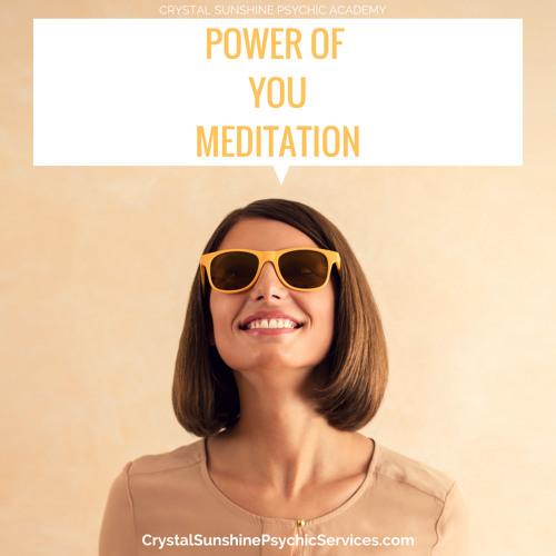 Power Of YOU Meditation