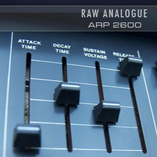 'Raw Analogue - ARP 2600' Demo