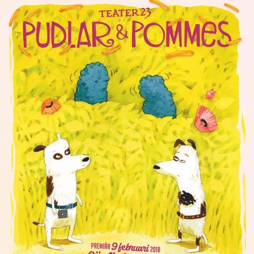 02 Pudlar Och Pommes Syntolk - Karaktärer