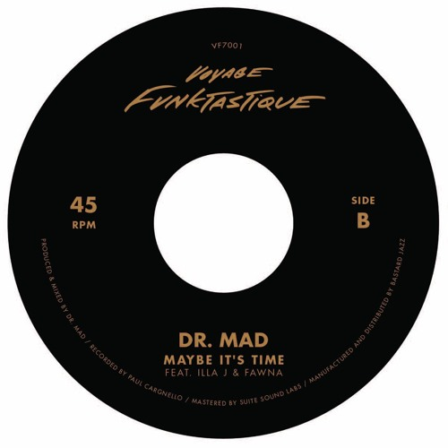 Dr. MaD - Maybe It's Time (feat. Illa J & Fawna)