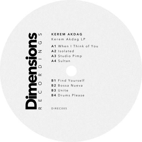 Kerem Akdag - Kerem Akdag LP [DIREC005]