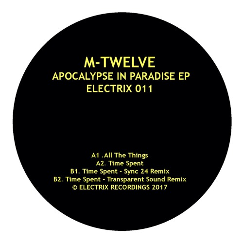 M - TWELVE  - TIME (SYNC 24 REMIX)  ELECTRIX RECORDS