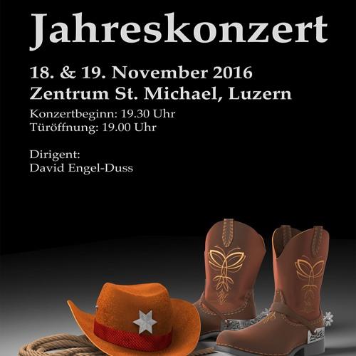 """Jahreskonzert 2016 unter dem Motto """"Western"""""""