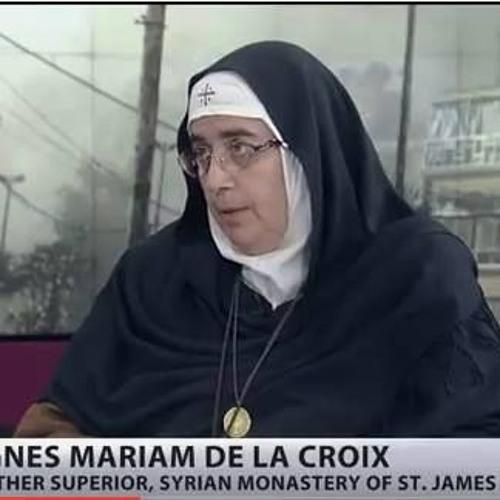 """Le Pied à Papineau, CKVL FM:  Femmes en Syrie: Agnès-Mariam dénonce les """"rebelles/terroristes"""""""