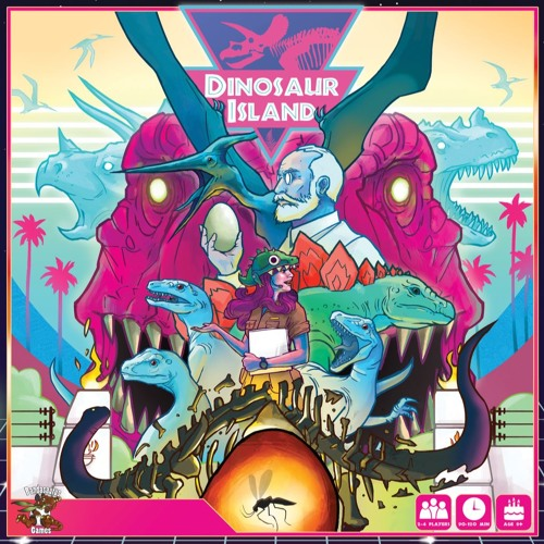 Episode 62 - Dinosaur Island Review