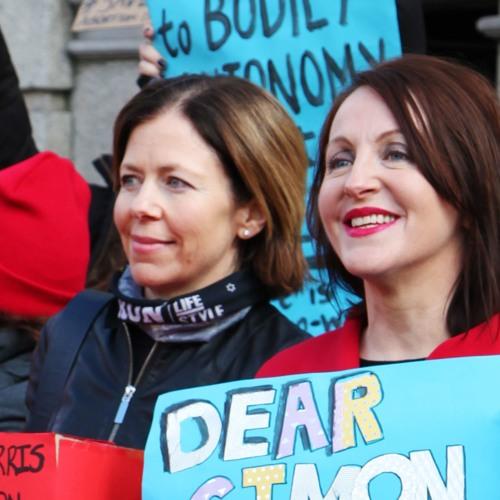 Niamh Uí Bhriain from Save the 8th on RTE Radio1