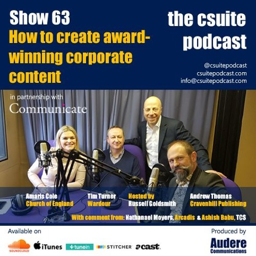 Show 63 - How To Create Award-Winning Corporate Content