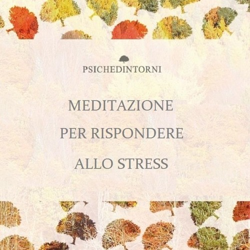 Meditazione per rispondere allo stress