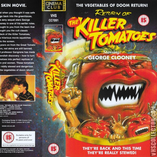 Return of the Killer Tomatoes - To the Lab (Cover)