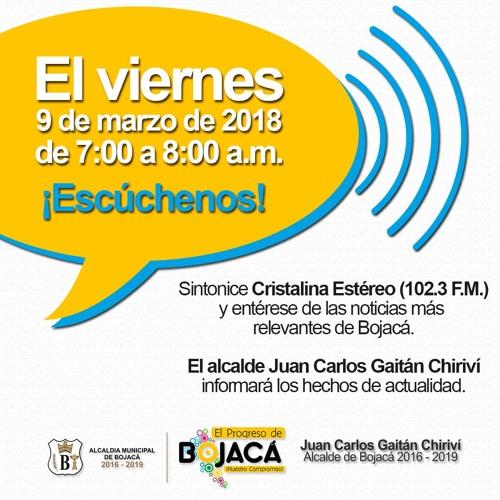 Entrevista del alcalde Juan Carlos Gaitán en Cristalina Estéreo