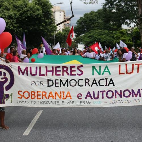 Ouça o Programa Brasil de Fato - Edição Minas Gerais 10/03/2018