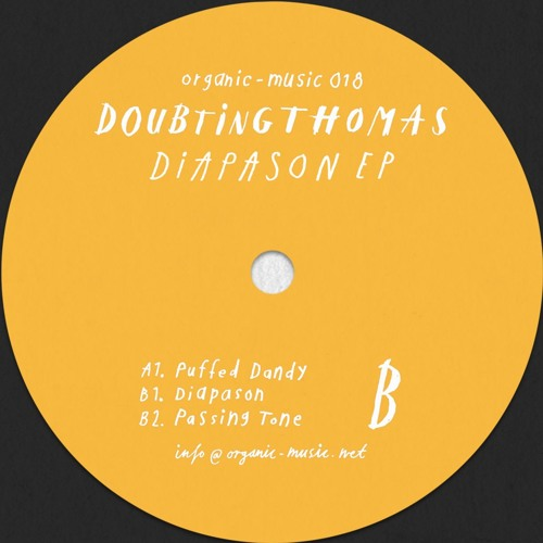 ORG018 / DoubtingThomas - Diapason EP