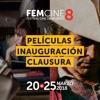 AUDIO. Las películas de Inauguración y Clausura de FEMCINE 2018