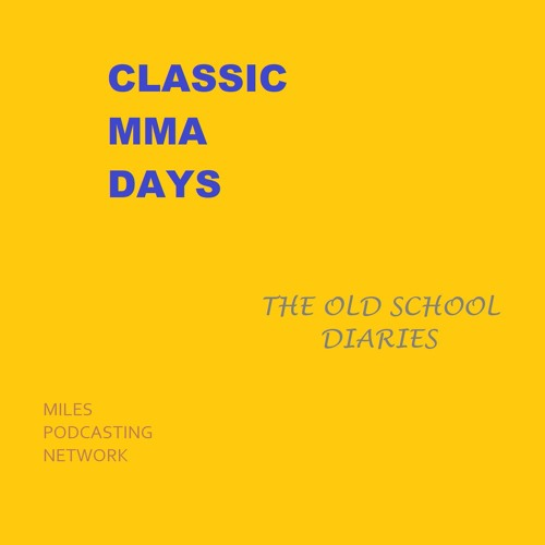 Classic MMA Days: The Old School Diaries of UFC 1