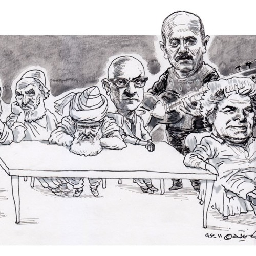 سه شاعر بزرگ ایرانزمین در مهمانی کیوان ساکت