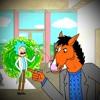 Rick Sanchez vs Bojack Horseman. Universal Rap Battles
