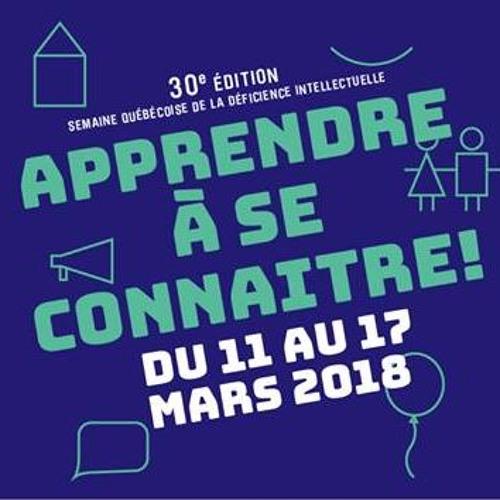 ENTREVUE: François Godin-Bellerive pour la Semaine québécoise de la déficience intellectuelle