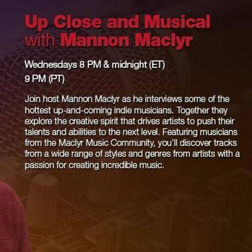 UP CLOSE & MUSICAL Interview with MARIJA CJIM Montreal