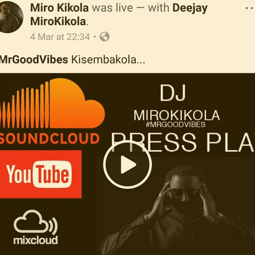 *****Live Mix On Facebook-Kisembakola vs Vibe dos cotas