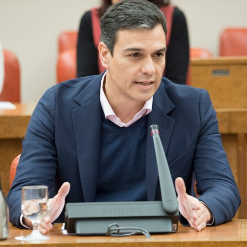 130318 Pedro Sánchez ante el Grupo Parlamentario Socialista