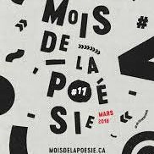 Entrevue - Simon Dumas - le mois de la poésie 2018