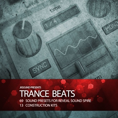 Trance Beats for Reveal Sound Spire Audiodemo