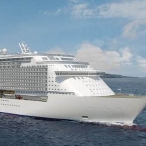 First-of-Their-Kind Escalators on New Cruise Ship
