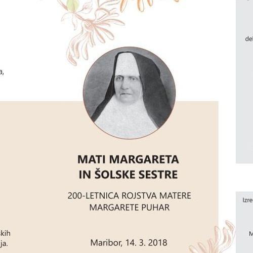 Otvoritev simpozija o Materi Margareti ter šolskih sestrah in pozdravni govori