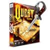 Quest Game Designed Stone