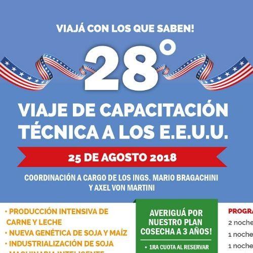 Viaje de Capacitación Técnica a EE.UU. 2018