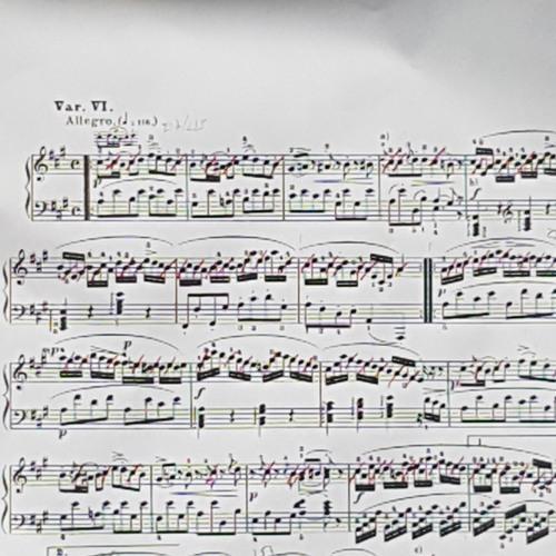 Variations Mozart de Philippe Aigrain