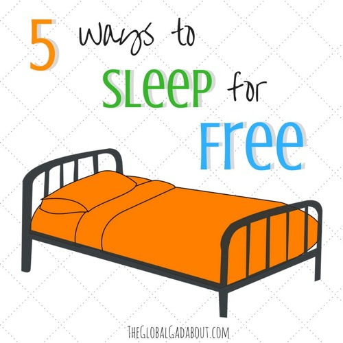 5 Ways To Sleep For Free