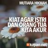 Mutiara Hikmah: Kiat Agar Istri Dan Orang Tua Kita Akur - Ustadz Ahmad Zainuddin, Lc.