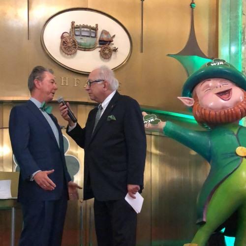 Larry Burns and Paul W. Smith - St Patrick's Day Celebration!