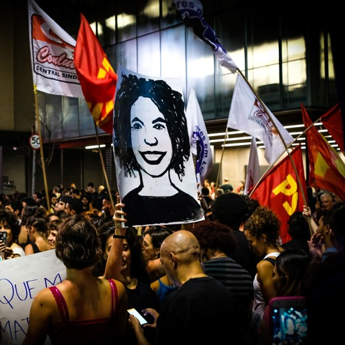 Manifestaçao Assassinato Marielle Franco