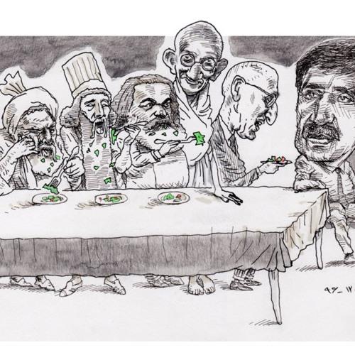 مهمانی علی کشتگر؛ «آزادی بر عدالت مقدم است»
