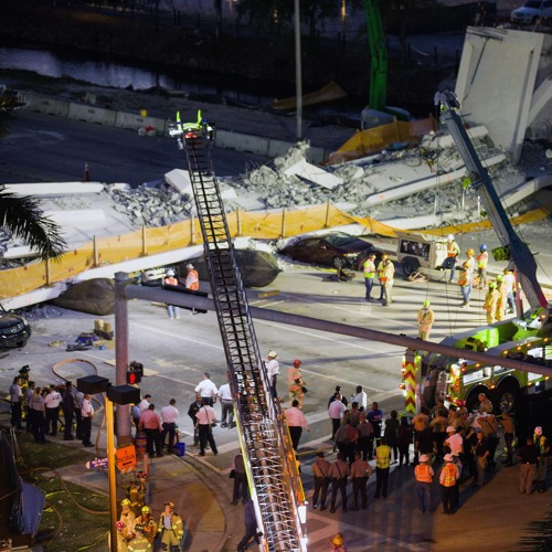 Voicemail from engineer about cracks in FIU bridge