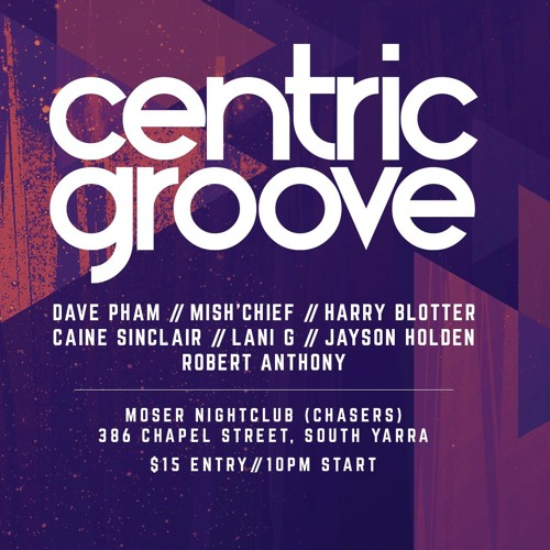 Harry Blotter - Techno Session @ Centric Groove [03/2018]