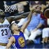 LeBron James block curry ft atdier ft jarneLL