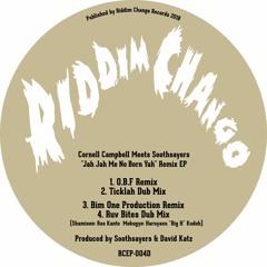 RCEP004 - Cornell Campbell Meets Soothsayers - Jah Jah Me No Born Yah Remix E.P.