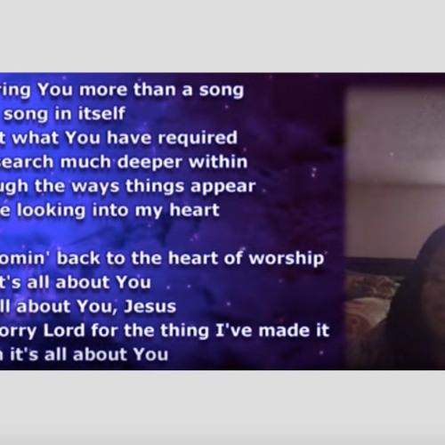 Heart Of Worship Medley - Tiffany Anderson Arrangement