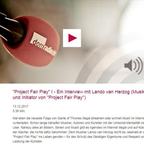 domradio lando van herzog interview audio