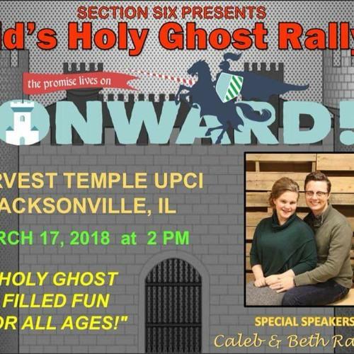 2018 - 17 - 03 - Holy Ghost Rally - Caleb & Beth Randol