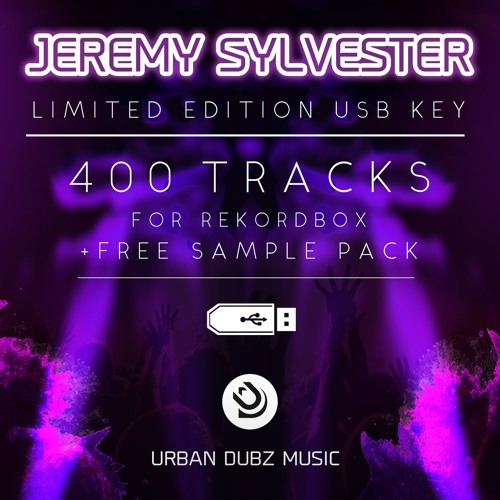 LIMITED EDITION USB KEY - 400 Jeremy Sylvester tracks for Rekord Box