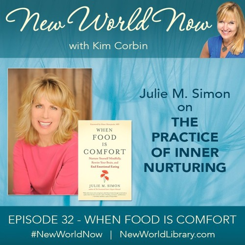 Episode 32: When Food is Comfort with author Julie M. Simon